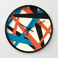 russian Wall Clocks featuring russian by Frau Fruechtnicht