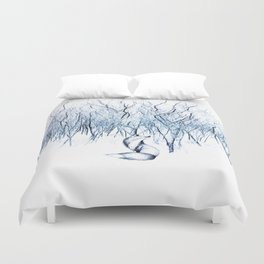 Be present in this moment. Duvet Cover