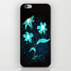 Abstraflowers (invert) iPhone & iPod Skin