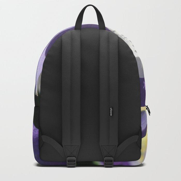 Purple Columbine Backpack