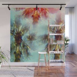 Egyptian Palm Trees Kaleidoscope Wall Mural