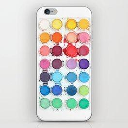 Messy Watercolors iPhone Skin
