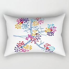Fireworks Tree Rectangular Pillow