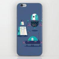:::Mini Robot-Nanoi::: iPhone & iPod Skin