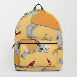 Taco Dog Backpack