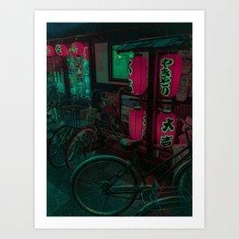 Ramen nights Art Print