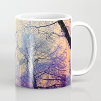 bebop Mugs featuring Snow Angel's View - Nature's Painting (color 2) by soaring anchor designs