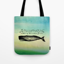 Moby Dick - The Madness of Men Tote Bag