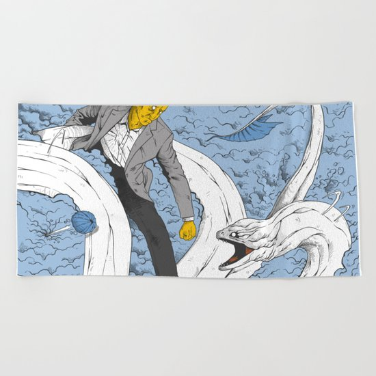 HJMB Beach Towel