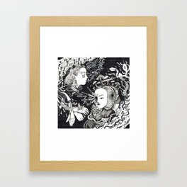 equivocal Framed Art Print