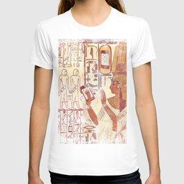 Ancient Egypt smartphones T-shirt