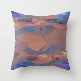 Reconciled Cleric Geometric Throw Pillow