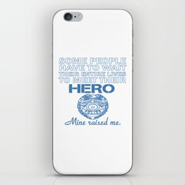 POLICE OFFICER'S DAUGHTER iPhone Skin