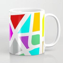 Color Abstract Pattern Coffee Mug