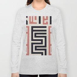 African Tribal Pattern No. 30 Long Sleeve T-shirt