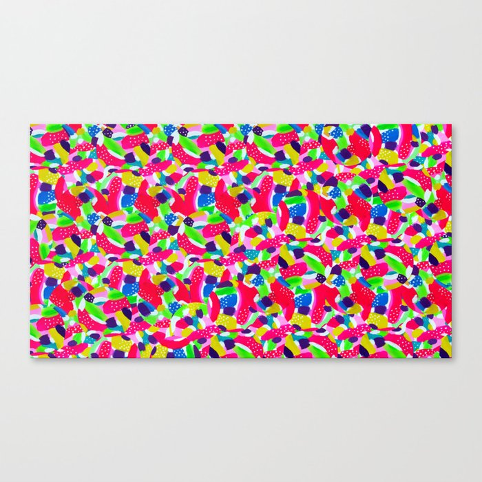 Colourful Abstract Canvas Print