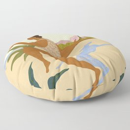 Balancing Act Floor Pillow