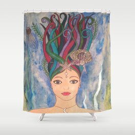 Daughter of the Deep Shower Curtain