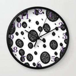 Black Spots Wall Clock