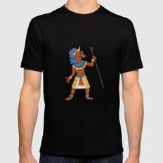 Pharaoh Unicorn Mens Fitted Tee MEDIUM Black