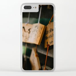 Wishing Well Clear iPhone Case
