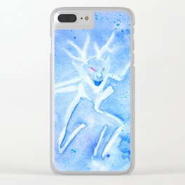 Wendigo Wind Clear iPhone Case