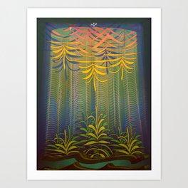 Inner Paradise / Encounter Art Print