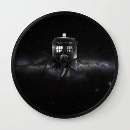 TARDIS DOCTOR WHO SPACE Wall Clock