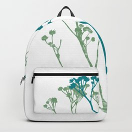 Don't let the tall weeds cast a shadow on beautiful flowers Backpack
