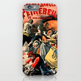 The Crimes of Peyrebeille (Bloody Hostel) iPhone Case