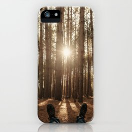 Amongst the Pines iPhone Case