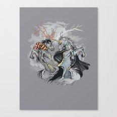 Retold with Unicorns II Canvas Print