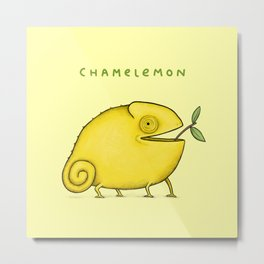 Chamelemon Metal Print