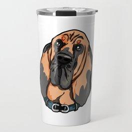 Bloodhound Bluthund St. Hubertushund Dog Puppy Travel Mug