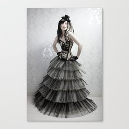 haute couture 2 Canvas Print