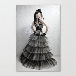 haute couture 2 Canvas Print