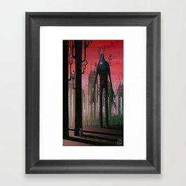 The walking forest Framed Art Print