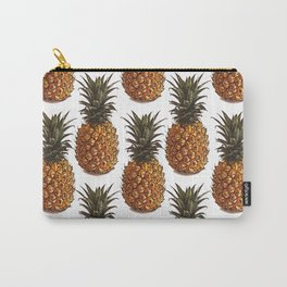 Pineapple Pattern Vector Carry-All Pouch