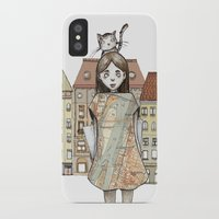 budapest iPhone & iPod Cases featuring Budapest by Bari Zsidek