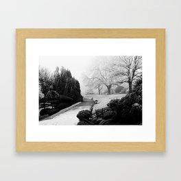 Winters tale Framed Art Print