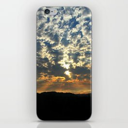 Remnants of a Storm iPhone Skin