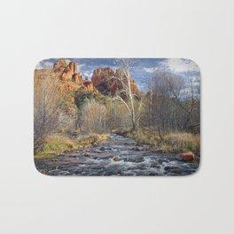 Cathedral Rock in Sedona Arizona Bath Mat