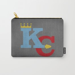 Kansas City Sports Red & Blue Carry-All Pouch