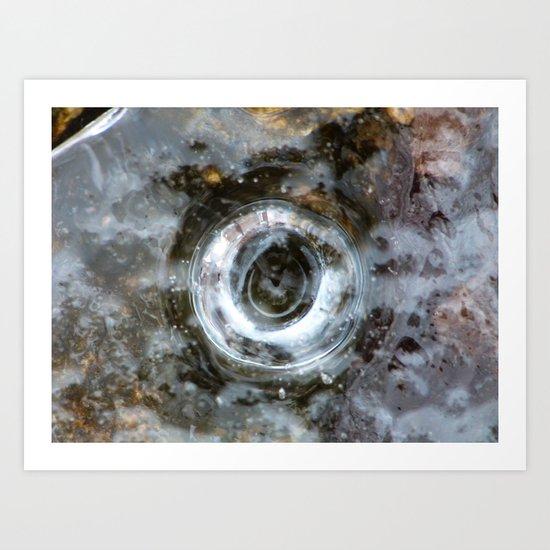 ice X Art Print