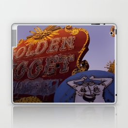 Golden Nugget Sign Laptop & iPad Skin