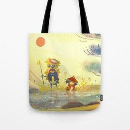 Kappa et l'enfant Tote Bag