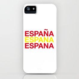 SPAIN iPhone Case