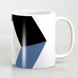 3D effect cube Coffee Mug