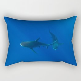 Hawaiian Shark VIII Rectangular Pillow