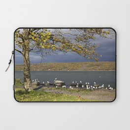 Autumn Day in the Finger Lakes II Laptop Sleeve